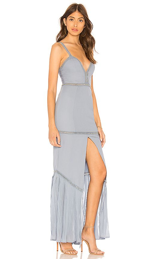 Privacy Please Lemonade Gown In Baby Blue Revolve W E D D I N G