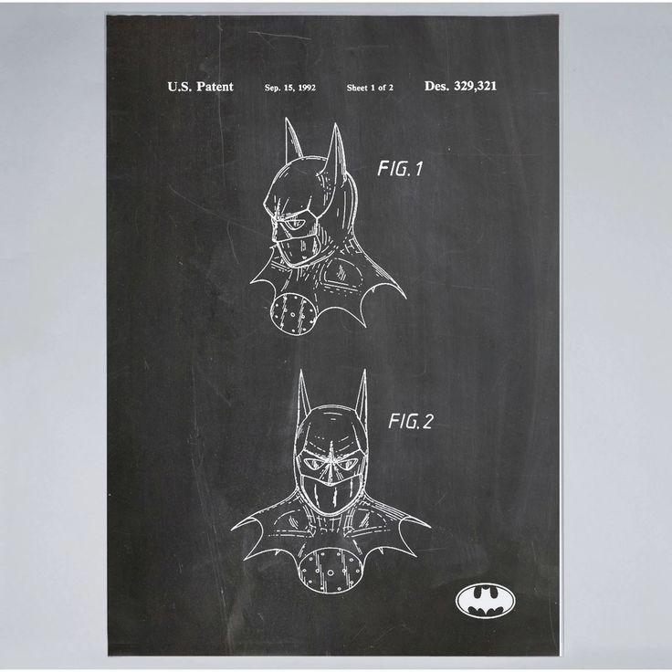 Batman Mask - Print