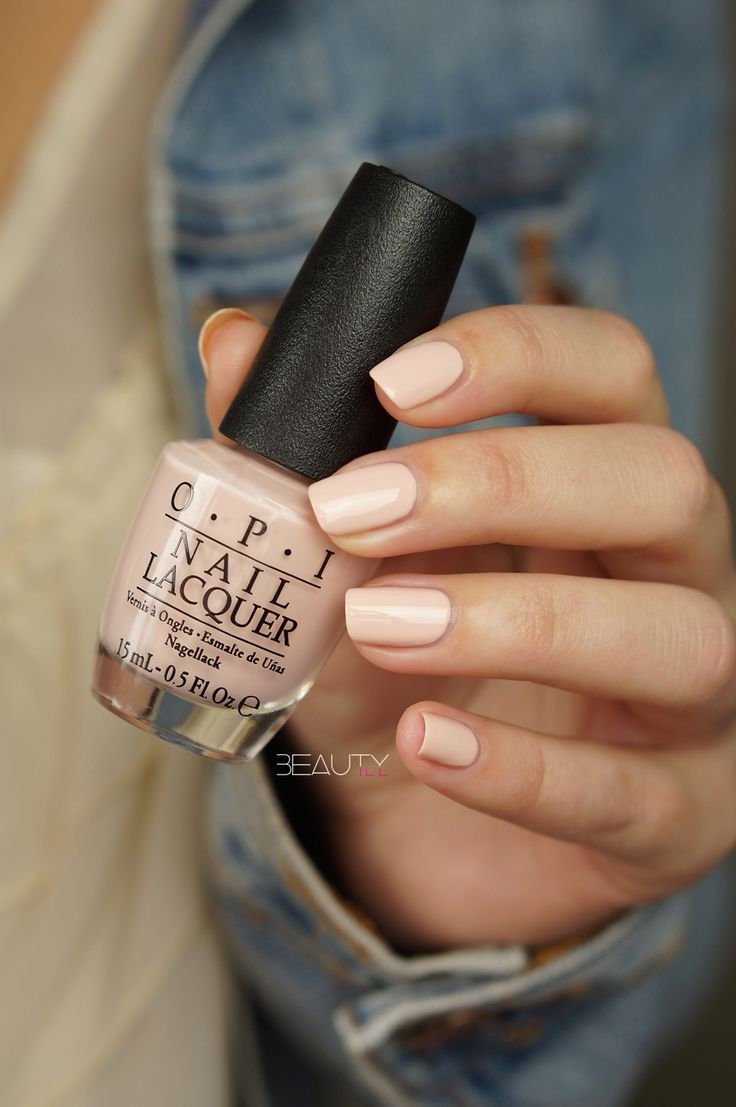 OPI — Stop it I'm Blushing! (Soft Shades Collection   Spring 2016)
