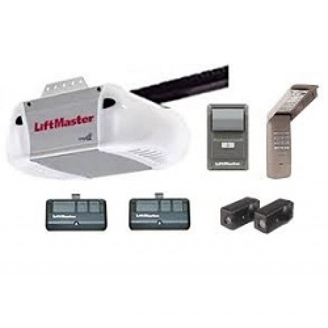 Liftmaster 8365 267 Security 2 0 1 2 Hp Ac Chain Drive