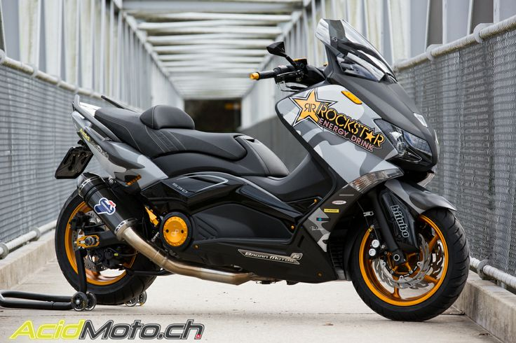 Yamaha T-Max 530 Hyper Modified AM-1 made in Switzerland »