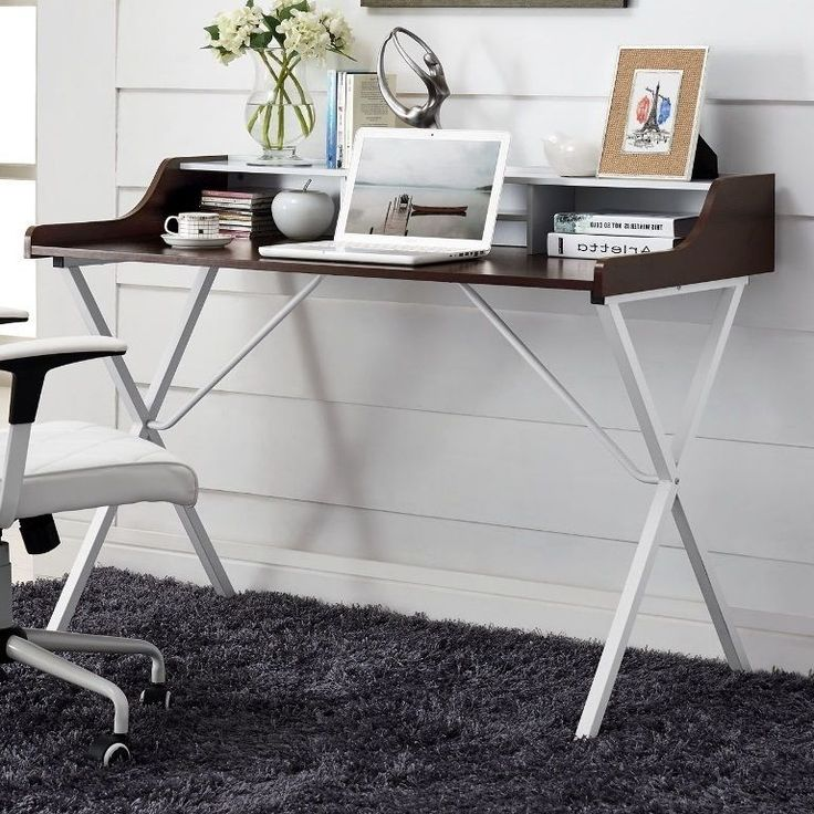 Writing Desks For Home Office Contemporary Modern Student Table Kids Bed Room…
