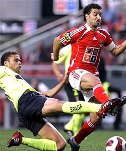 Benfica 0 - 0 Braga  Simão na luz