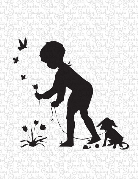 boys: Boys Silhouette, Boys Prints, Javi S Rooms, Boys Rooms, Baby Kids Things, Boys Learning, Playrooms Idea, Flower, Crafts Prints