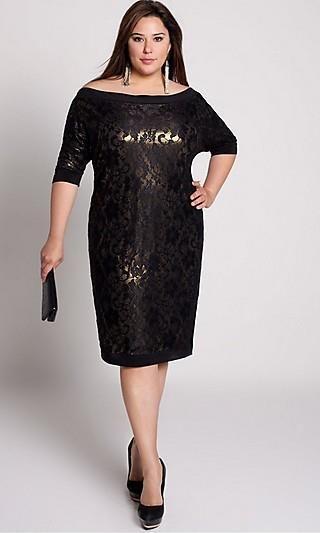 Платье на корпоратив полная женщина