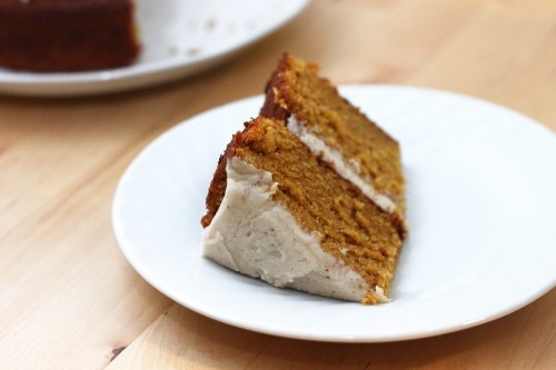 Pumpkin Cake with Brown Butter Frosting | Recipes | Pinterest