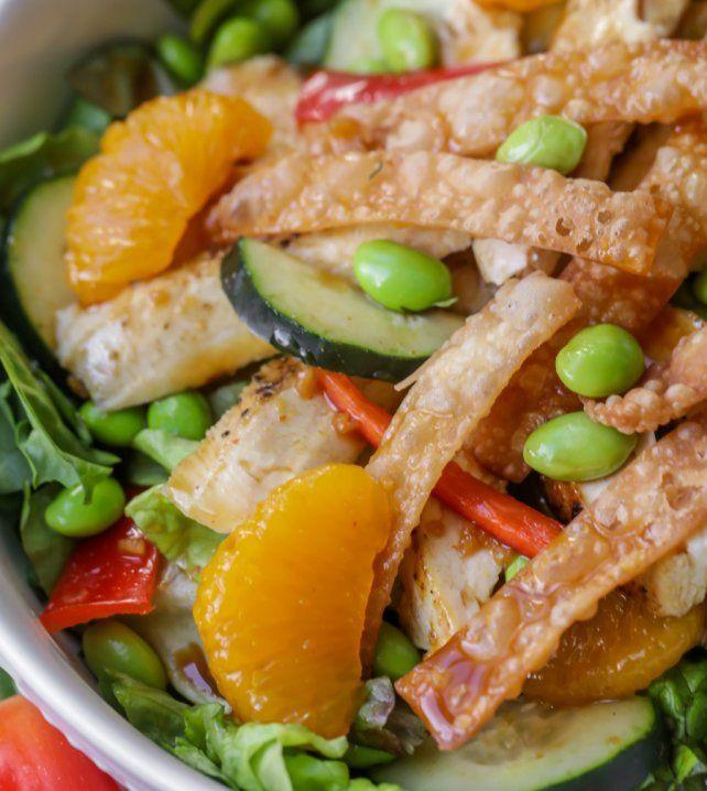 Applebees Oriental Chicken Salad  Recipe  Salad -5688