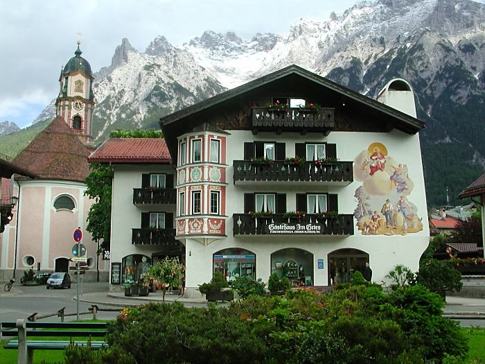 Mittenwald, Germany - Looks like a fairy tale and the violin making capital of the world.