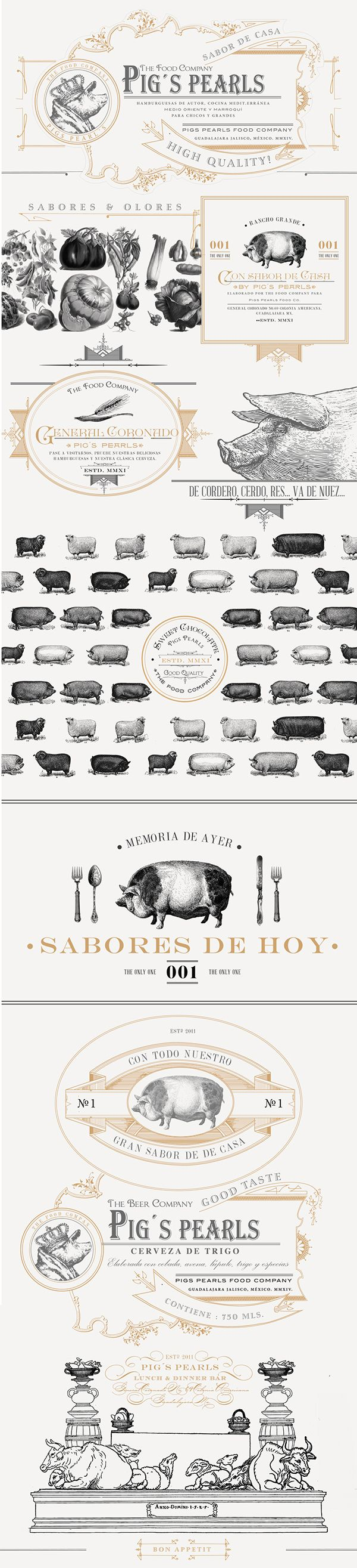 Pig´s Pearls on Behance