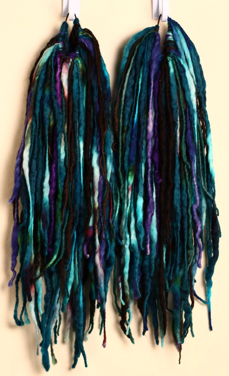 BurntBunny Wool Dread Falls. Gorgeous!