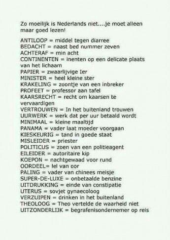 Nederlands op zijn leukst