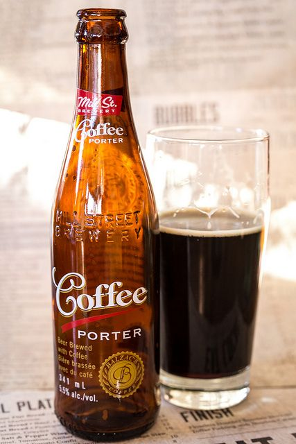 Beer and coffee can it get better