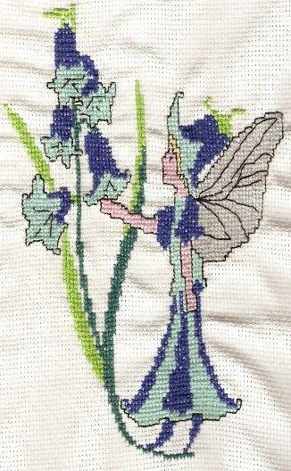 Zvonková víla #embroidery