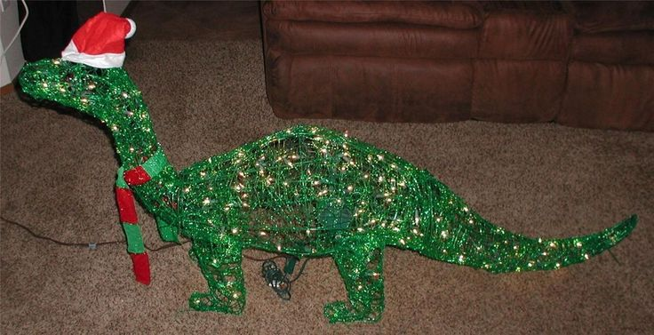 30 best images about christmas on pinterest blue color for Animated tinsel dinosaur christmas decoration
