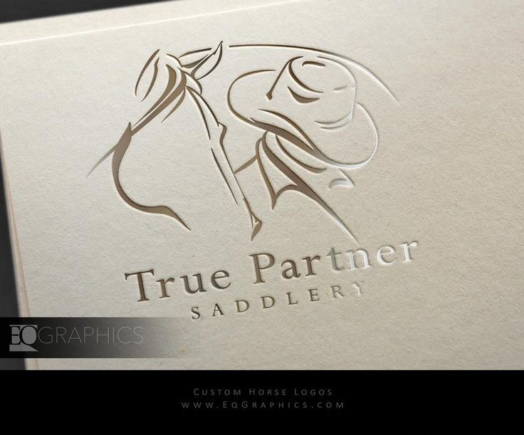 Custom Logo Design by Top Equestrian Logo Graphic Designer EQ Graphics