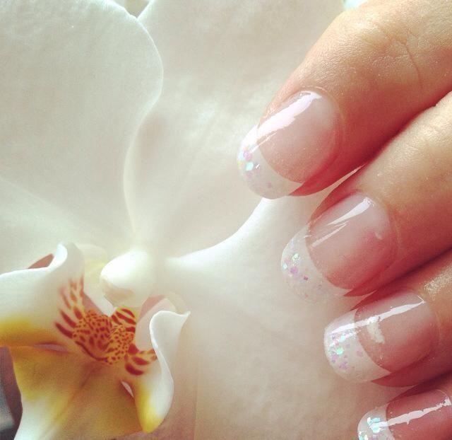 Witte glitters