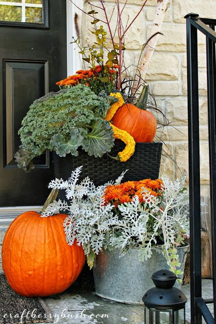 Craftberry Bush Fall Front Porch D E C O R Fall