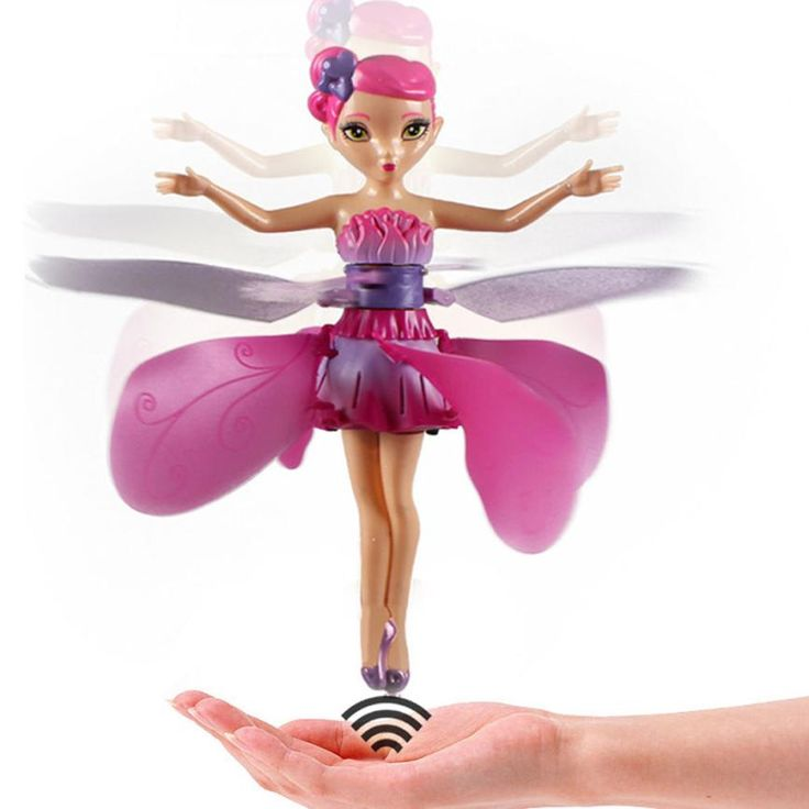 Flying Fairy Doll Hand Infrared Induction Control Dolls Child Fly Toy Induction fairies flying fairy toys for girls Gift