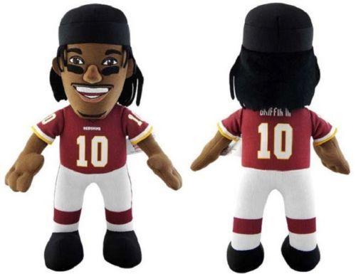 NWT NFL Washington Redskins #10 Robert Griffin III RG3 10-Inch Plush Doll