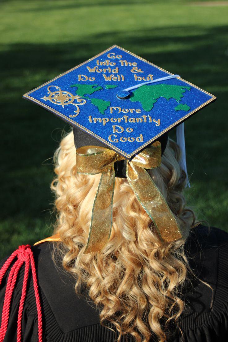 Graduation cap Go Into the World