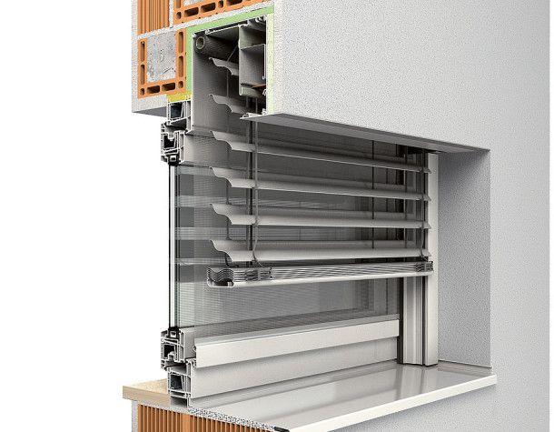 Vorbau-Raffstore INTEGO.XP-RS, Basis QUADRO - ROMA - bauemotion.de