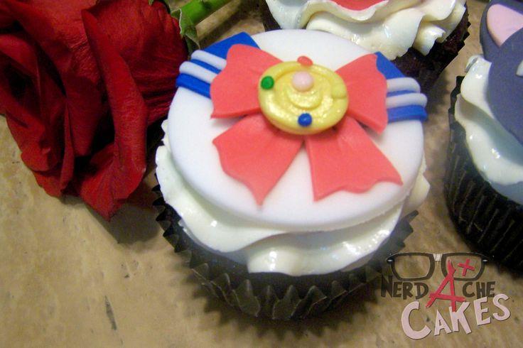 Sailor Moon cupcakes!