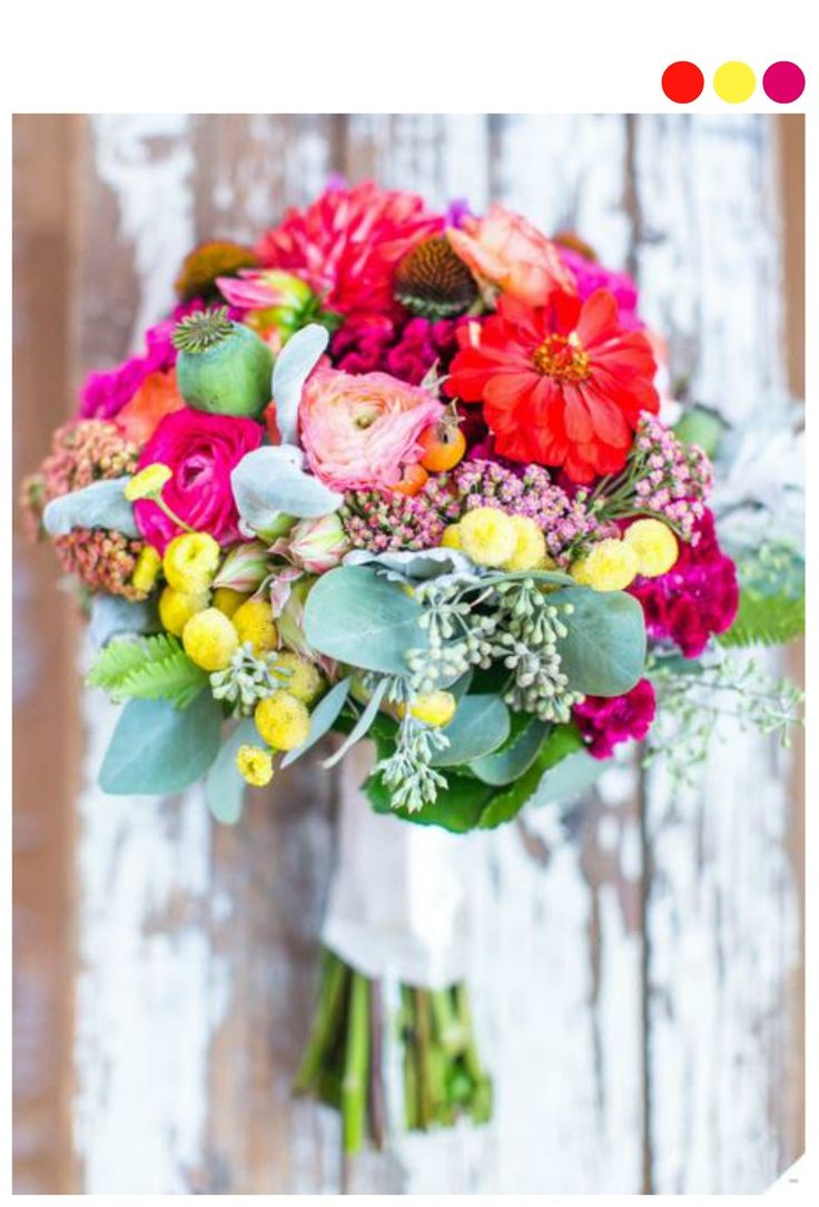 191 best diy wedding bouquets flowers images on pinterest diy preppy rustic wedding bouquet solutioingenieria Image collections