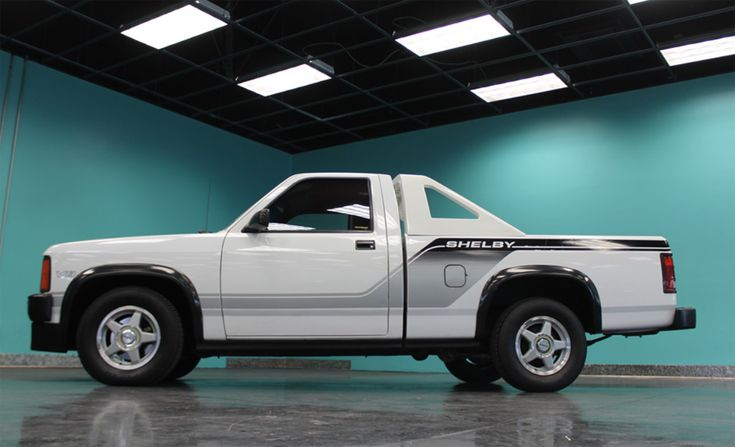 Dodge Shelby Dakota driven by Carroll Shelby heads to auction    Carroll Shelby helped engineer and bring some of the worlds most iconic cars to life, but this one is a little lesser known. It's not a Ford product, but a 1989 Dodge Dakota. Not just any Dakota, but    https://www.motorauthority.com/news/1114889_dodge-shelby-dakota-driven-by-carroll-shelby-heads-to-auction