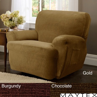 @Overstock - Available in colors of burgundy chocolate and gold this 4-piece recliner slipcover will protect your entire chair. & 18 best slip cover images on Pinterest | Slipcovers Recliner ... islam-shia.org