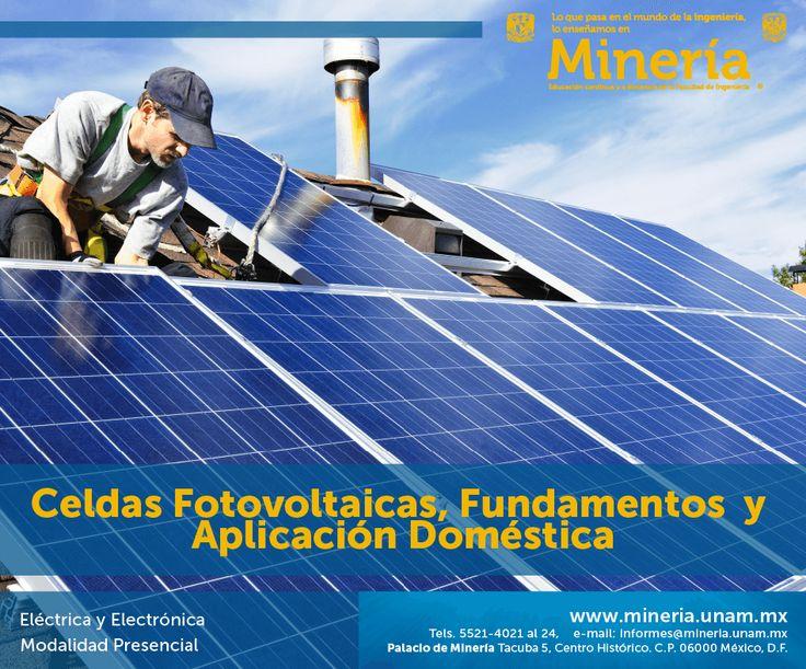 El participante conocerá y aplicará la tecnología de las celdas #fotovoltaicas, su #construcción y ventajas mediante desarrollo de cálculos básicos de trabajo SDF de las celdas fotovoltaicas actualmente en comercialización.