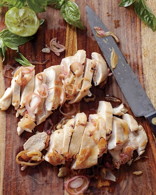 Chicken with Basil and Lime