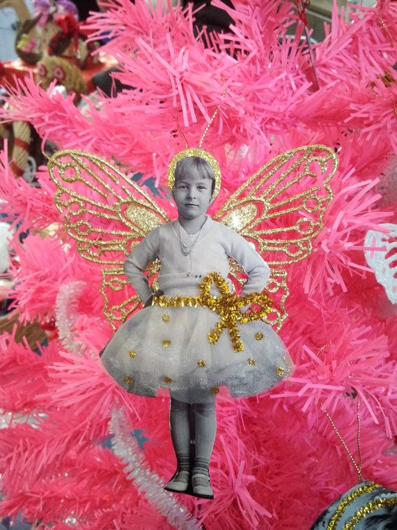 Vintage fairy decoration by CosediAnna on Etsy
