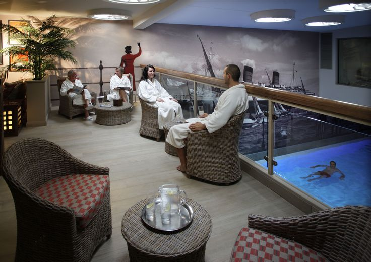 Relaxation area Voyage Spa, Thurlestone Hotel