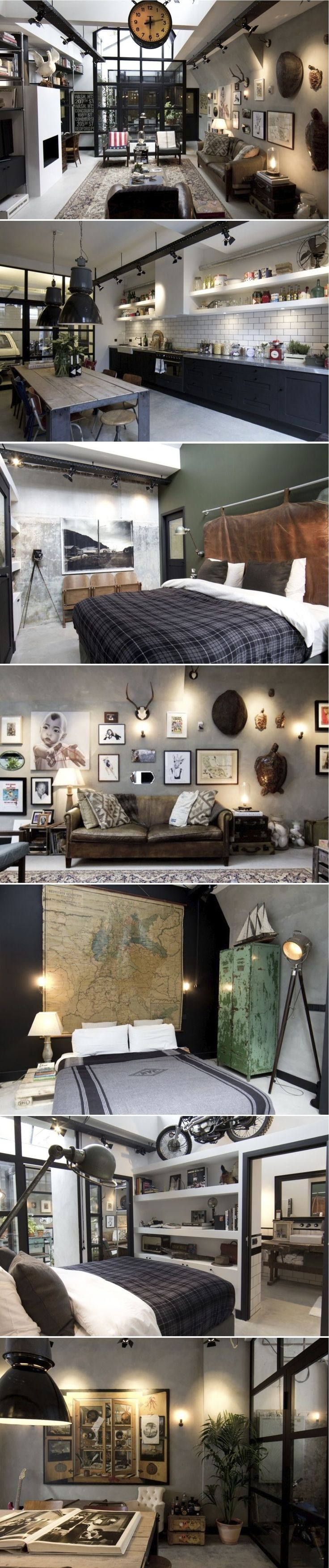 the industrial style loft ideas you've been looking for. | http://vintageindustrialstyle.com/