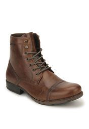 Red Tape Brown Boots Online Shopping Store