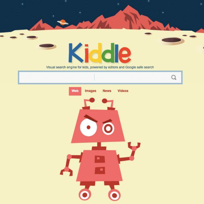 Kiddle By Google - a website where kids up to age 10 can go to get better quality search results without all the spam and material they shouldn't be seeing!