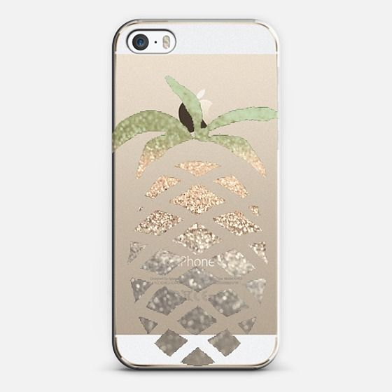 GATSBY PINA COLADA Crystal Clear iPhone case