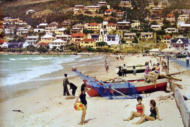 Awesome old picture of Fish Hoek, SA