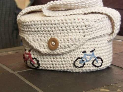 Cute Crochet Camera Bag - CROCHET Crochet Pinterest