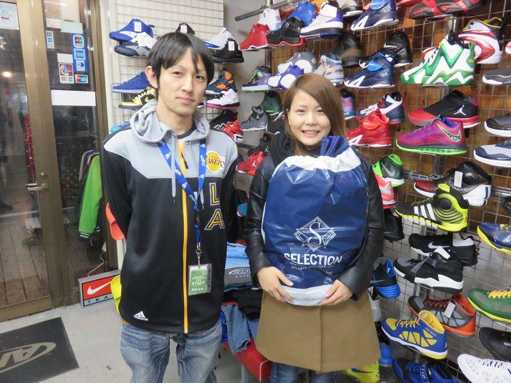 【新宿2号店】2014.12.17 ご友人へのプレゼントをご購入いただきました。気に入って頂けると幸いです。また、ご来店の際はお気軽にお声掛けください!