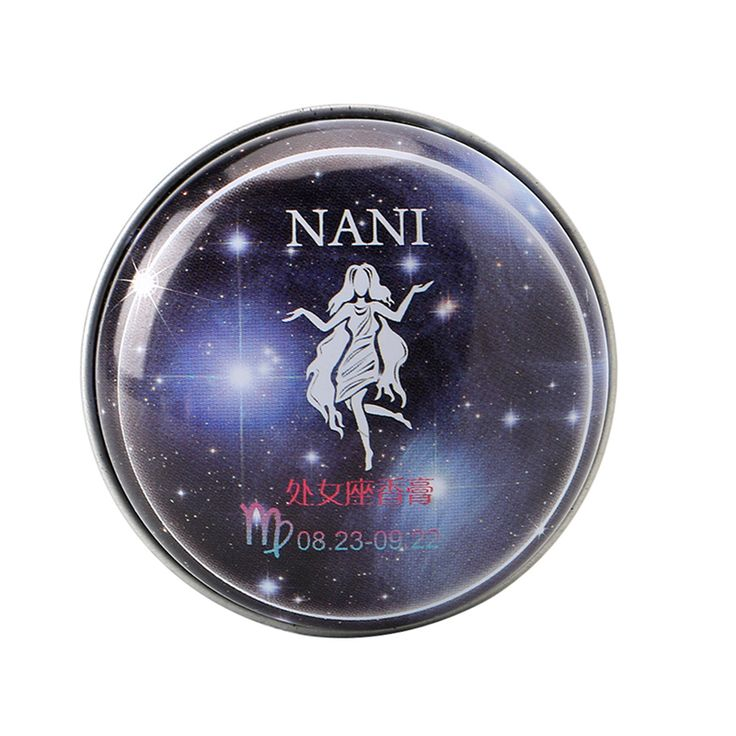 1Pc Virgo Constellation Perfumes Magic Solid Perfume Deodorant Fragrance #Affiliate