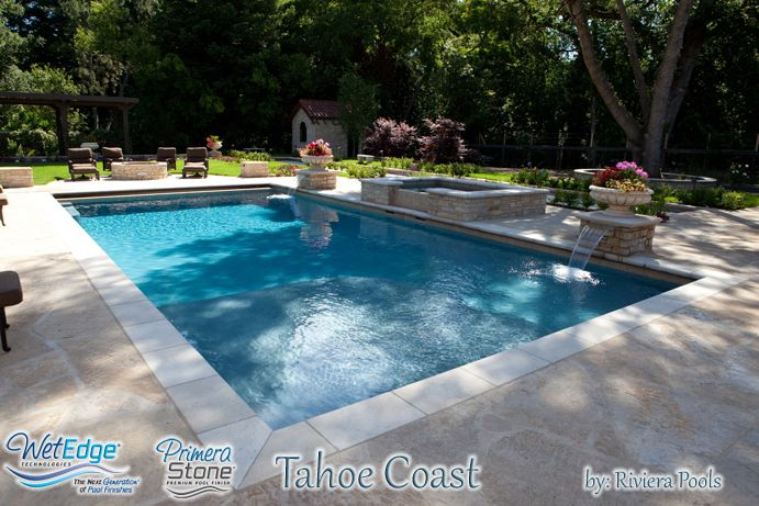 Pool Plaster Mix : Primera stone tahoe coast built by riviera pools