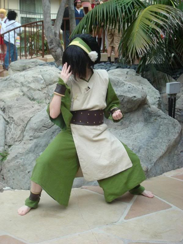 Avatar the Last Airbender - Toph... thats me if i was on avatar the last air bender and yes i had to say the whole show name because its fun... lol