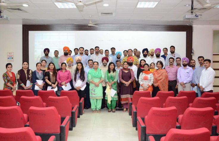 Proud moment for Universal Group of Institutions as Mr Hardeep Singh ( HOD ME) attended Innovation & Entrepreneurship Development Coordinators Meet On June 23, 2017 at IKG-PTU, Kapurthala.