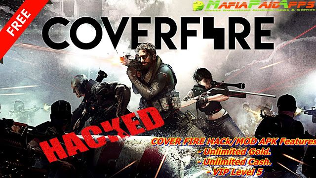 Cover Fire: shooting games Apk Mod (Unlimited Money/Gold