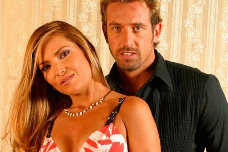 Gabriel Soto y Martha Julia