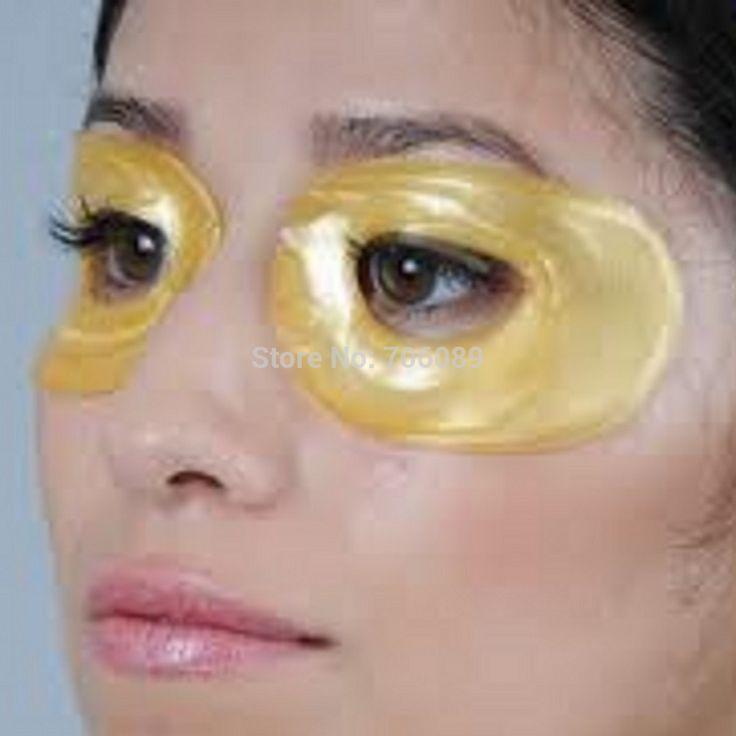 5 Pairs/Packs Superventas 24 K Eliminación Círculo Oscuro Máscara de Ojo de Oro, eliminar Bolsas De Los Ojos y Los Ojos Hinchados sin Cirugía Máscara de Colágeno