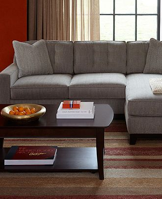 Clarke Fabric Sectional Sofa Living Room Furniture Sets Amp