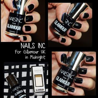 MichelaIsMyName: NOTD // NAILS INC For Glamour UK in Midnight