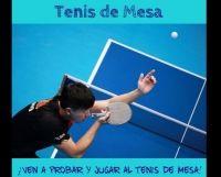 Escuela de Tenis de Mesa Curso 2016-2117